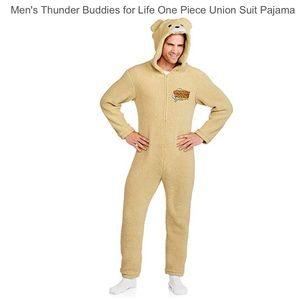 Ted 2 Thunder Buddies Teddy Bear Mens Suit Pajama
